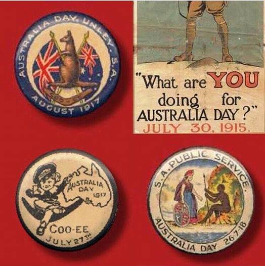 Aust Day - Badges